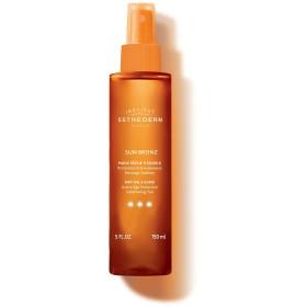 エステダム Sun Bronz Dry Oil 3 Suns Active Age Protection Sublimating Tan - Strong Sun - For Body & Hair 150ml