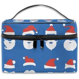 クリスマス 化粧ポーチ メイクポーチ コスメバッグ 収納 雑貨大容量 小物入れ 旅行用