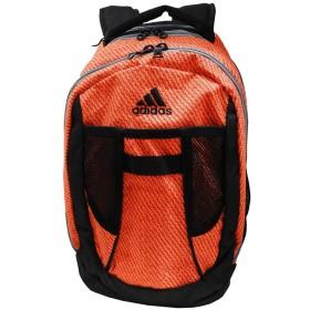 adidas アディダス メンズジュニアレディース軽量 リュックサック スポーツバッグ デイバッグ - オレンジ