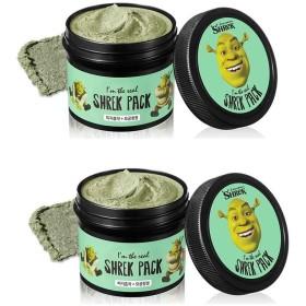 オリーブヤングドリームワークスアインダリアルシュレックパック110gx2本セット皮脂毛穴ケア、Olive Young Dream Works I'm the Real Shrek Pack 110g x 2ea Set Fiji Pore Care [並行輸入品]