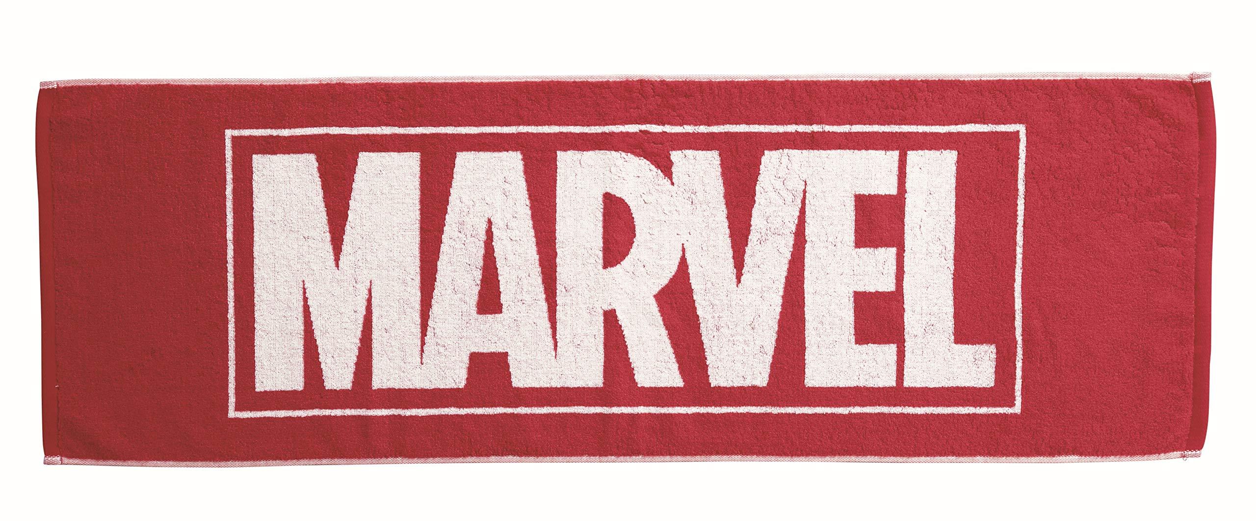 丸眞 スポーツタオル Marvel マーベル ロゴ 34 110cm マーベルロゴ