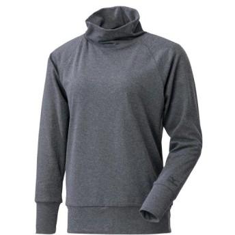 MIZUNO SHOP [ミズノ公式オンラインショップ] ブレスサーモフィーリンテックハイネックシャツ[レディース] 05 グレー杢 C2JA9801