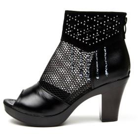 candy88レディースシューズサンダル 女性の夏ハイヒール 魚の口の靴 ローマ サンダル 涼しい 綺麗 春夏 (40(25cm))