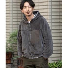 ROSSO(ロッソ) アウター ブルゾン ボアフードブルゾン【送料無料】