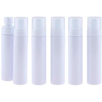 6本 水スプレー ミストスプレーボトル PETボトル コスメ 香水 詰替え容器 4サイズ選べ - 100ミリリットル