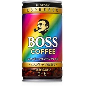 サントリー ボス レインボーマウンテンブレンド 185g×30缶 ケース売