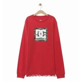 【SALE開催中】【クイックシルバー:トップス】【DC ディーシー公式通販】ディーシー (DC SHOES)19 KD BOX STAR LS キッズ Tシャツ 長袖 プリント ロゴ クルーネック