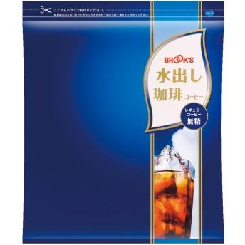 ブルックス 水出し珈琲 無糖(28g×12バッグ)レギュラーコーヒー100%の本格水出しコーヒー!生豆をじっくりと焙煎!飲み応えのあるコクと香りをお楽しみ頂けます[BROOK'S/BROOKS]