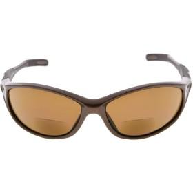 アイキーパー(Eyekepper)TR90 遠近両用 眼鏡 スポーツ用 サングラス 野球 ランニング お釣り ドライビング ゴルフ ハイキング(パールブラウン,+2.50)