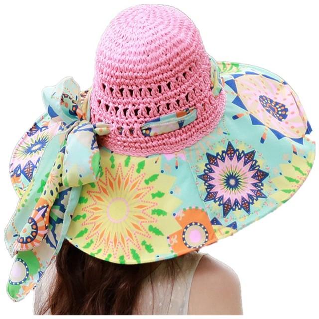 (ドウゲイ)TongYi レディース 女性用 UVカット帽子 遮光ハット ネックカバー コットン100% サイズ調節 つば広 uvカット帽子 春夏 レディース 自転車 (ライトピンク)