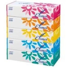 カミ商事 エルモアティシュー 200組×60箱(梱売)