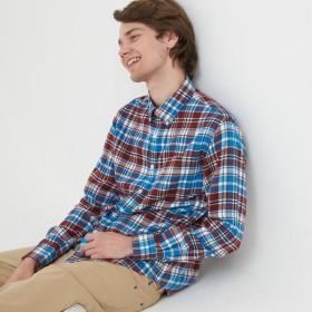 AIGLE メンズ メンズ コットンフランネル 長袖チェックシャツ ZCH044J ミコノス (178) シャツ・ポロシャツ