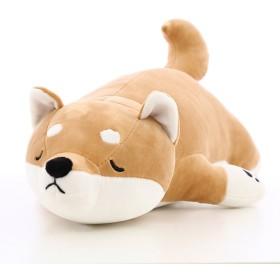 [XINXIKEJI]ぬいぐるみ 犬 可愛い 抱き枕 プレゼント 動物 大きい おもちゃ 柴犬 ワンちゃん 犬縫い包み お祝い ふわふわ 子供 特大 お誕生日 お人形 女の子 男の子 女性 赤ちゃん 贈り物 彼女 ギフト 萌え 55CM