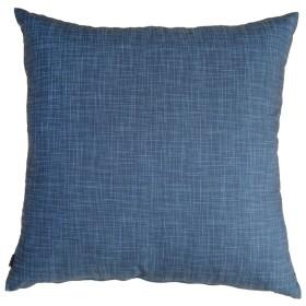 fabrizm 日本製 クッションカバー 60角 60×60cm むら糸 藍 1454-ai-ai