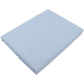 日本製 掛け布団カバー 綿100% 和晒し ガーゼ シングルロングサイズ 150cmX210cm ブルー