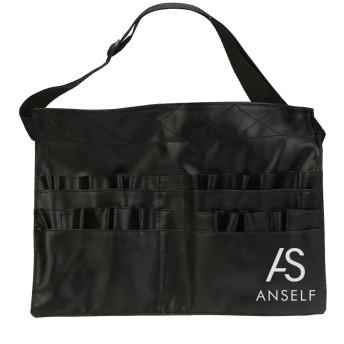 Rakuby 化粧ブラシ バッグ PVC プロ フェッショナル化粧品 メイクアップブラシ エプロンバッグ アーティストベルト ストラップホルダー