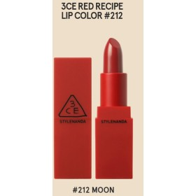 3CE stylenanda赤色レシピマットリップカラー(212) [並行輸入品]