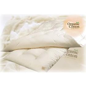 オーガニックコットン(有機栽培) 100% ベビーサイズ お布団 敷・掛布団セット