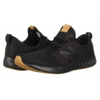ニューバランス メンズ スニーカー シューズ Fresh Foam Sport Black/Black