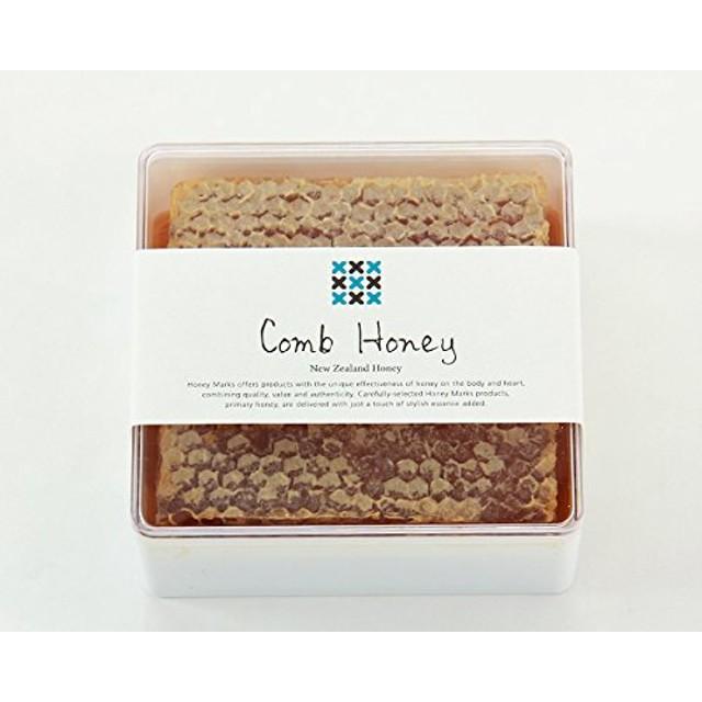 HONEY MARKS(ハニーマークス) コムハニー(340g) はちみつ ハチミツ 蜂蜜 巣蜜 ハチの巣 蜂の巣 巣はちみつ