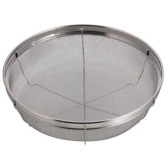 パール金属 アクアスプラッシュ ステンレス製 浅型 キッチン ザル 25cm H-9136