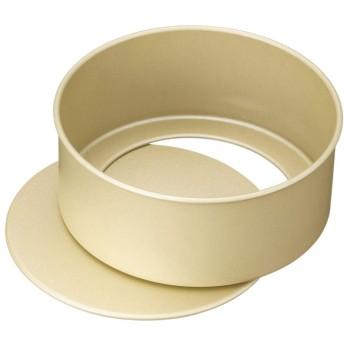 貝印×COOKPAD 熱伝導効果で、焼き上がりに差がつく アルミフッ素加工のホールケーキ型 底取れ式 12cm DL-8054
