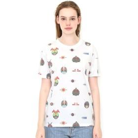 [マルイ] 【ユニセックス】コラボレーション総柄Tシャツ/仮面ライダー(仮面ライダー)/グラニフ(graniph)