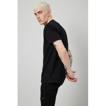 Tシャツ - FOREVER 21【MEN】 【TroubleChildロゴTシャツ】グラフィック ロゴt 白 ホワイト 黒 ブラック XS S M L