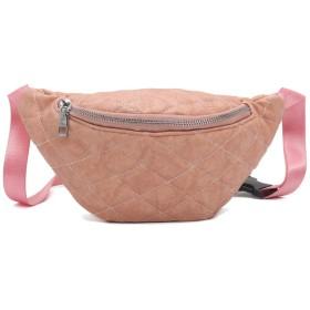 Marschao 女性パックチェストバッグ革電話ポーチベルトウエスト 旅行バッグ レディース
