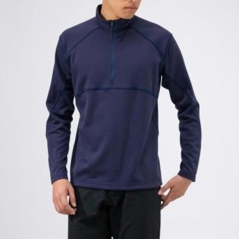 MIZUNO SHOP [ミズノ公式オンラインショップ] ブレスサーモライトインナージップネックシャツ[メンズ] 12 アストラルオーラブルー B2MA9566