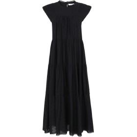 《9/20まで! 限定セール開催中》SEE BY CHLO レディース 7分丈ワンピース・ドレス ブラック 36 コットン 100%