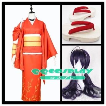 コスプレ衣装+ ウイッグ+靴 文豪ストレイドッグス 泉鏡花 cosplay