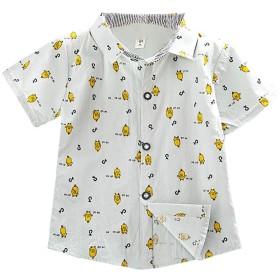 Urmagic子供服 半袖tシャツ 男の子 女の子 綿 可愛い動物柄 トップス カジュアル ブラウス 薄手ソフト キッズ Tシャツ