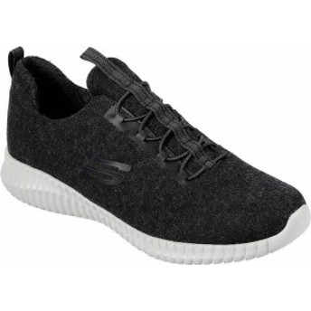 スケッチャーズ メンズ スニーカー シューズ Wash-A-Wool Elite Flex Sneaker Black