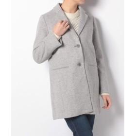 (McGREGOR/マックレガー)ウールジャージーショートシャギージャケット/レディース グレー 送料無料