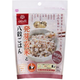 はくばく 発芽玄米と八穀ごはん 250g