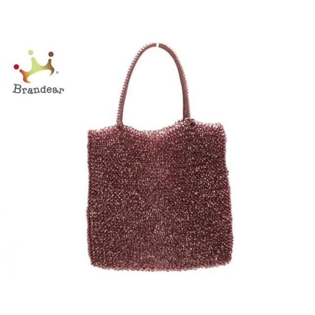アンテプリマ ANTEPRIMA トートバッグ ワイヤーバッグ ピンク ワイヤー   スペシャル特価 20191123