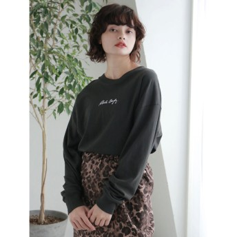 イーハイフンワールドギャラリー E hyphen world gallery ROBERTA BAYLEY L/S (Charcoal Gray)