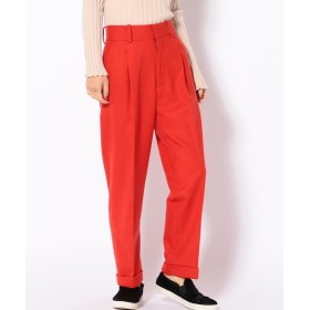 【61%OFF】 シップス アウトレット LUV OUR DAYS: Slacks レディース レッド 02 【SHIPS OUTLET】 【タイムセール開催中】