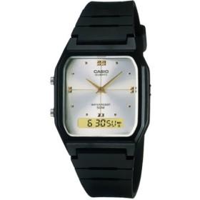[カシオ]CASIO Classic クラシック AW-48HE-7A シルバー×ブラック ユニセックス 腕時計[逆輸入モデル]