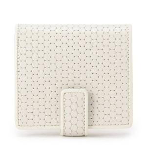 ヒロコ ハヤシ HIROKO HAYASHI ◆CARDINALE(カルディナーレ)薄型二つ折り財布 (ホワイト)