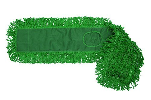 Pack of 6 Golden Star ACB48SITG Synergy Dust Mop Head with Combination Style Backing