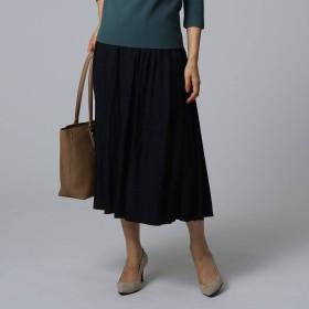 アンタイトル UNTITLED 【洗える】ヴィンテージテイストスカート (ブラック)