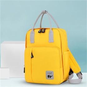 Gebosi マザーズバッグ リュック 大容量 多機能 旅行用 マザーズバッグ ベビーバッグ ママのバックパック 人気 おすすめ 軽量 防水で汚れにくい リュック ハンドバッグ(ゴールデン)
