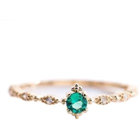 JIOLK 婚約指輪 リング キラキラ 彼女 妻 誕生日 記念日 プレゼント ギフト アクセサリー レディース