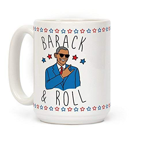 LookHUMAN Fabulous and Thicc White 11 Ounce Ceramic Coffee Mug