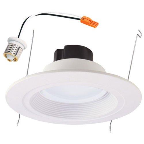 Cool White 6 Piece Viribright 2474 75 Watt Replacement 6 Universal LED Downlight 6 Pack 6
