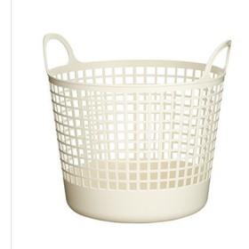 吉川国工業所 スカンジナビアスタイル ラウンドバスケット SCB-1 ホワイト
