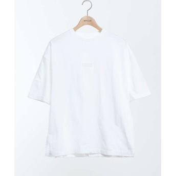 【40%OFF】 アバハウス SILICON LOGO オーバーサイズTシャツ メンズ ホワイト 1 【ABAHOUSE】 【セール開催中】