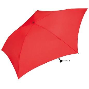 ワールドパーティー(Wpc.) 雨傘 折りたたみ傘 レッド 赤 50cm レディース メンズ ユニセックス 超軽量70g MSK50-050